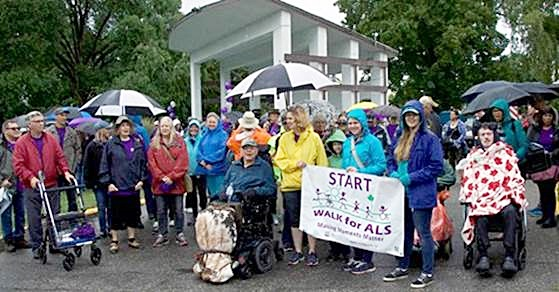 ALS Walk Was Wet, But 'Great' | POWER 104 FM