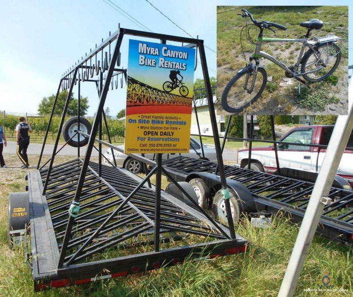 More Than Three Dozen Bikes Stolen