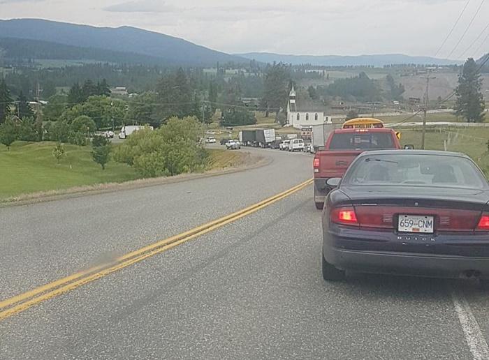 Update: Highway Crash Backs Up Traffic
