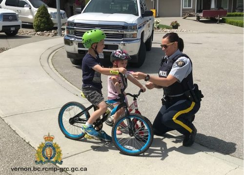 Police Looking For Safe Cyclists