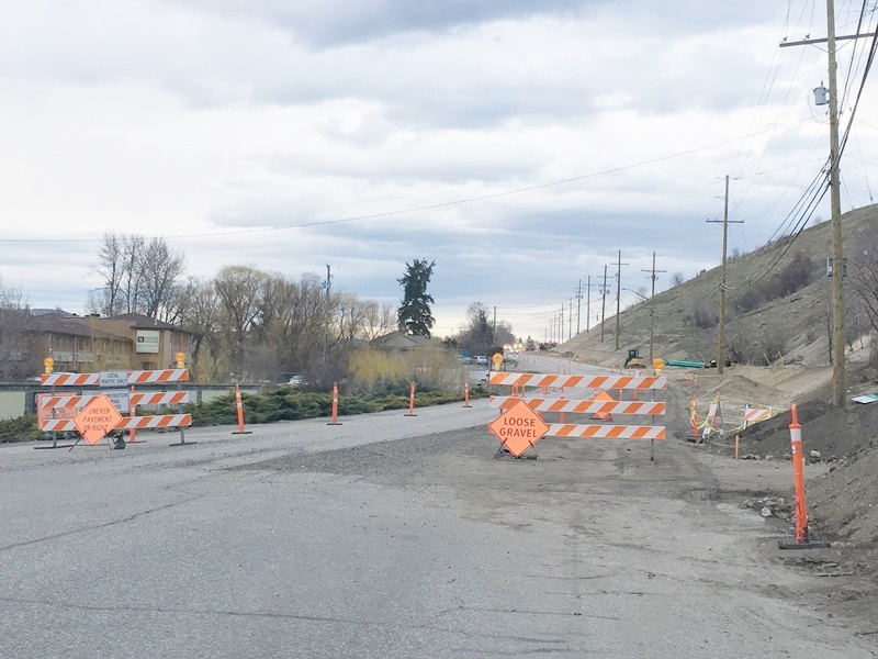 City Says Kal Lake Road Project Going Well