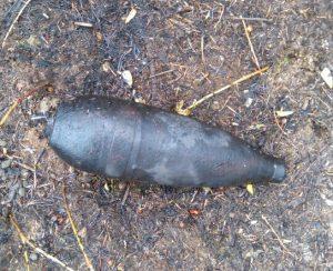 Mortar Found in Park Detonated