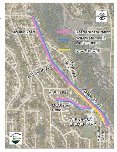 West Kelowna Improvement Project Begins Monday