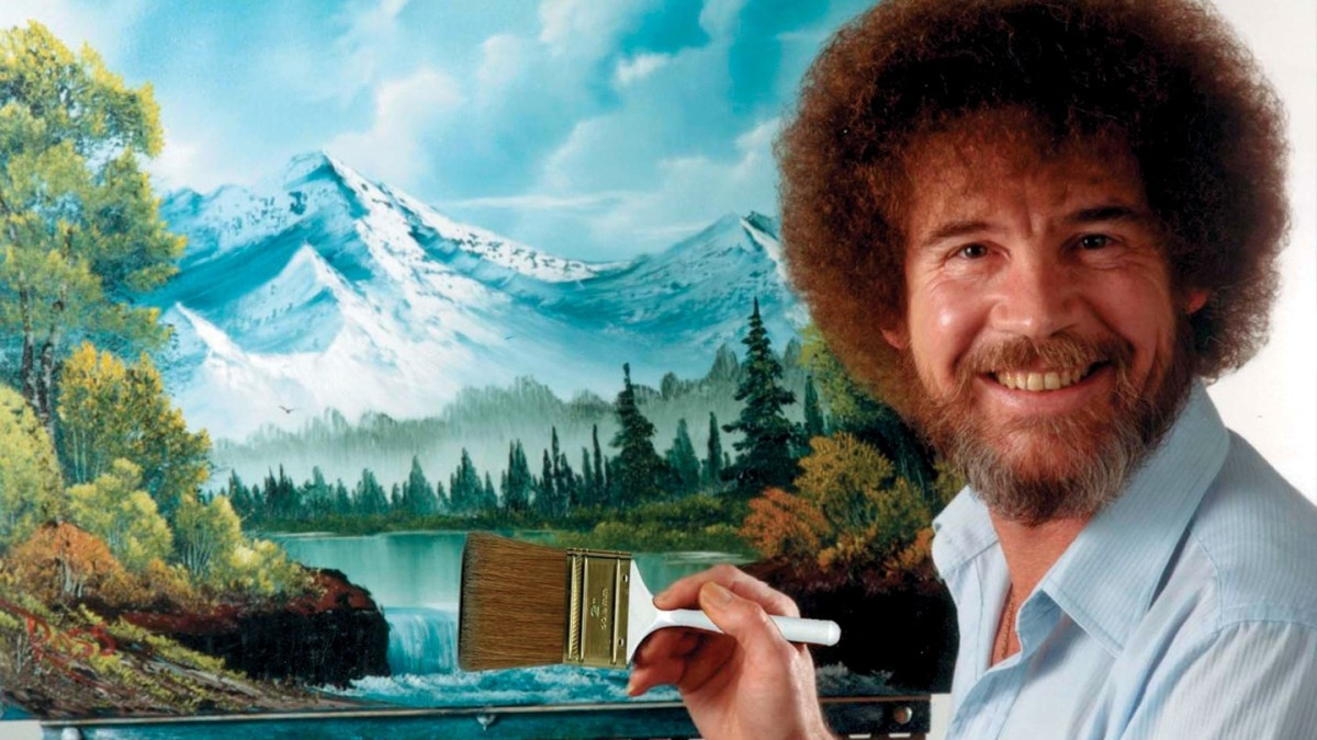Be lulled to sleep by the smooth sounds OF.......Bob Ross.
