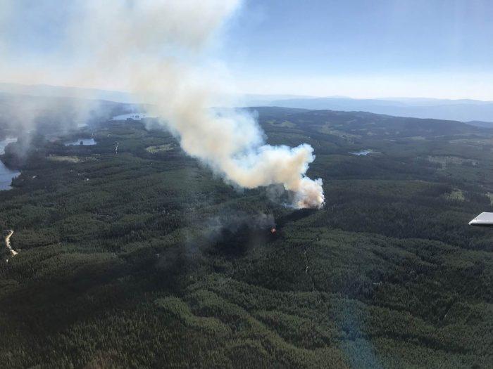 Update: Dee Lake Fire 'Being Held'