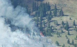 Wildfire 'Being Held'