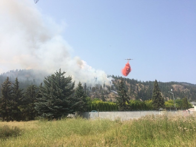 New Wildfire Held, Human Caused