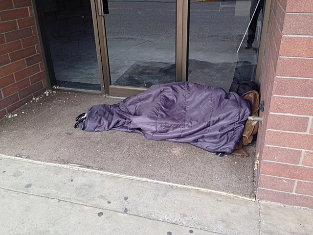 A Few More Homeless On Vernon Streets
