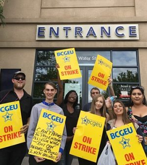 Striking Casino Workers Hold Block Party