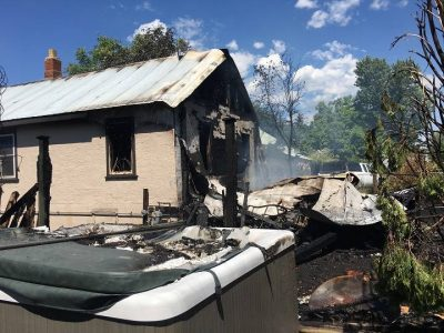 Update: Home Damaged By Fire in Lumby