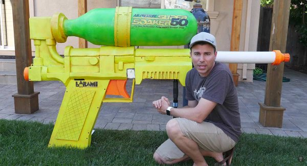 Now THAT'S a super soaker!!