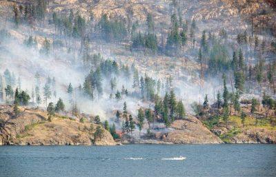 Latest Okanagan Fire Update