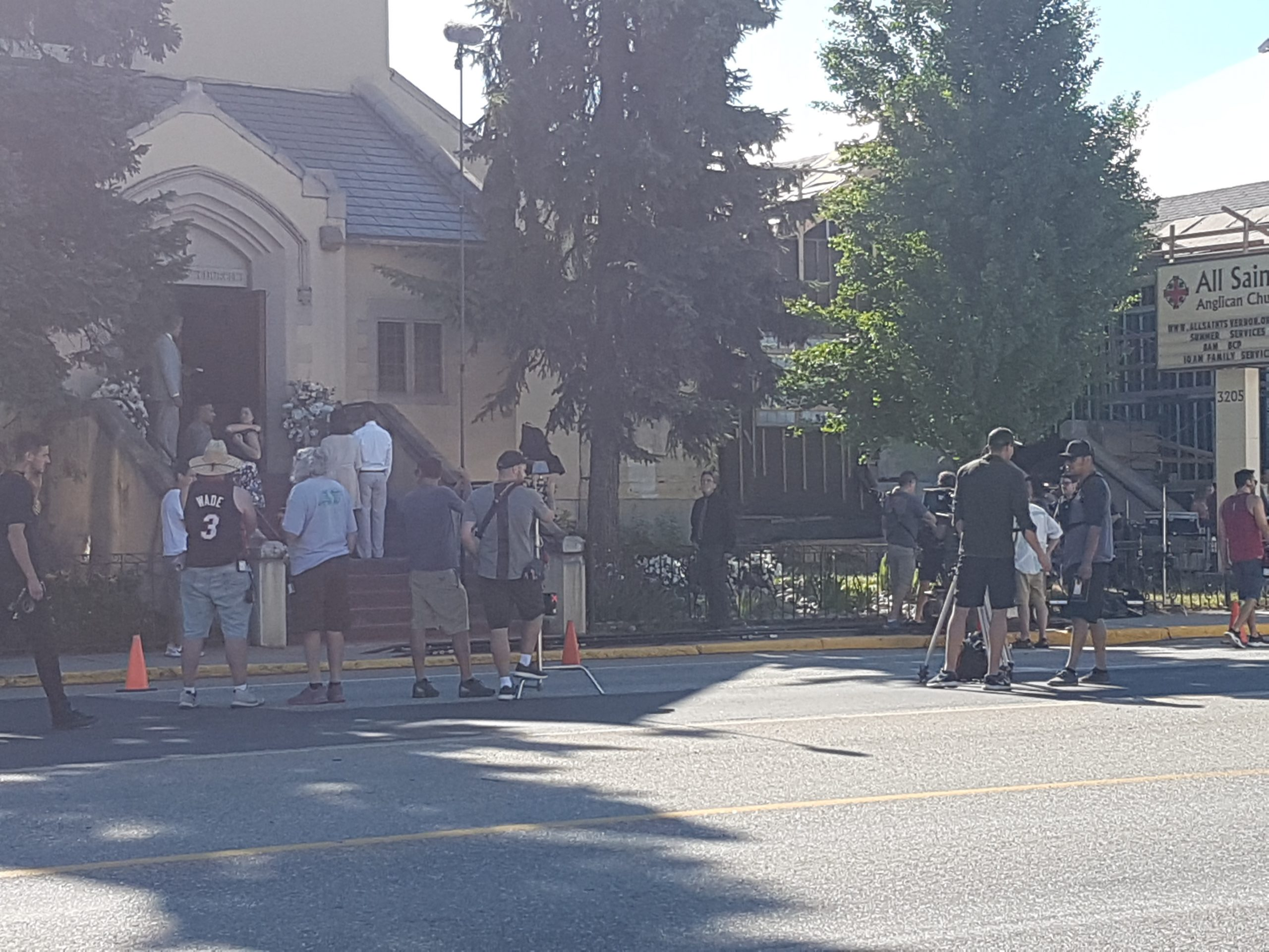Update: Movie Shuts Down Street