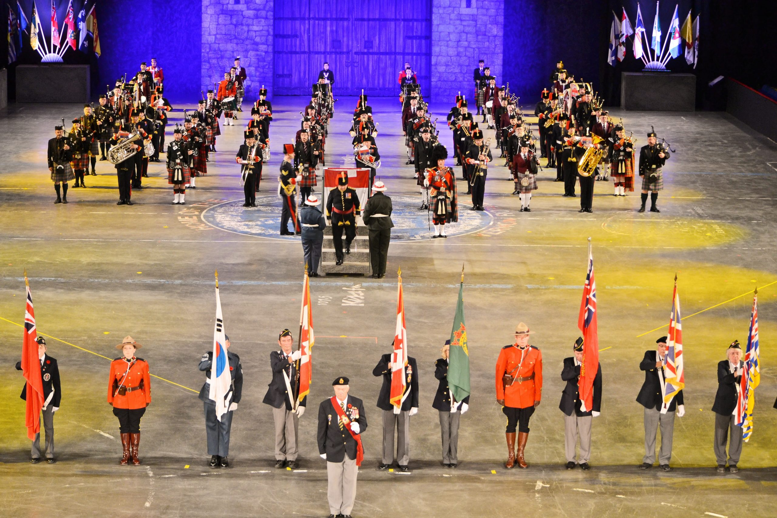 Excitement Building For The Okanagan Military Tattoo