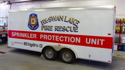 Local SPU Unit Sent to South Okanagan Ground Support