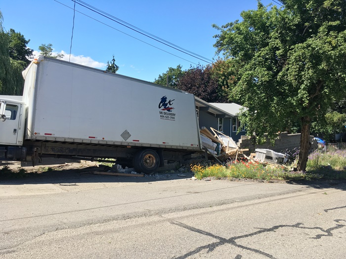 Update: Truck Runs Into House; Police Issue Details