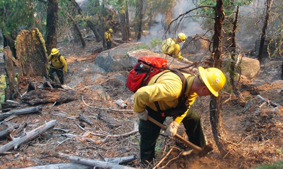 Heat Of The Day A Concern For Okanagan Wildfire Firefighters