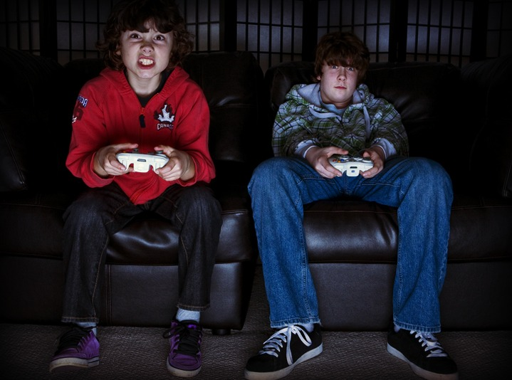 Wait, video games are GOOD for kids' health??