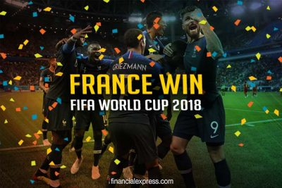 France Came to Dance: FIFA World Cup Champs