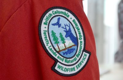 Area Fires: Update Harris Creek Fire