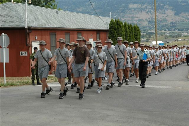 Farewell Ceremony For Cadets