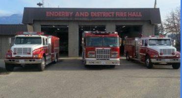 Enderby Fire Hall Extension on Back Burner