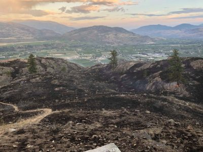 Quick Response Snuffs Out Oliver Mt. Fire