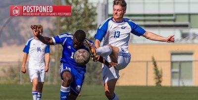 Smoke Postpones UBC Okanagan Heat Men's Weekend Soccer Matches