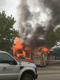 Smash & Fire Suspect Was On Meth