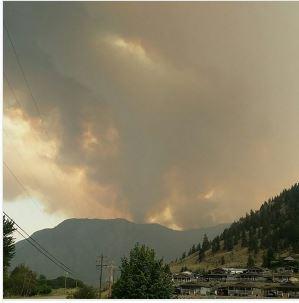 Update: Lightning Starts Fires In North Okanagan-Shuswap