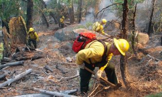 'Progress' on Monashee Complex Fires