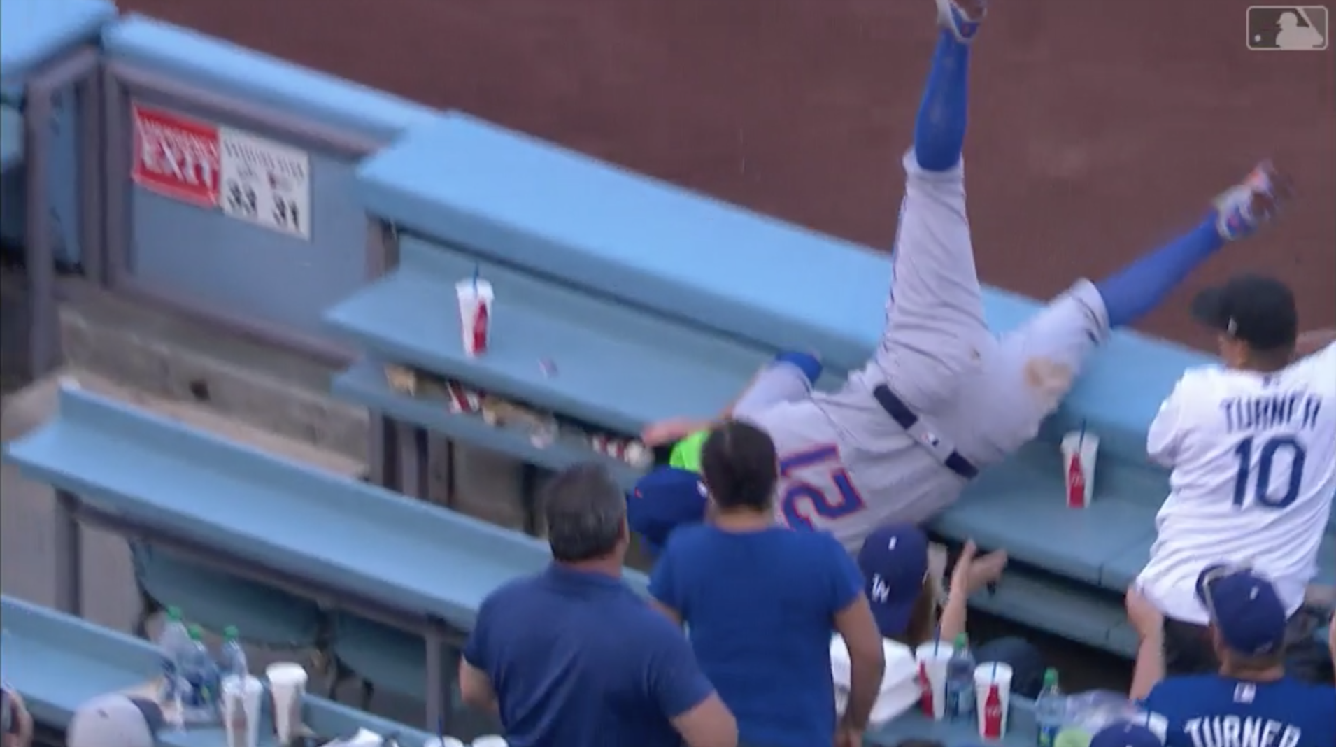 Watch this: one of the greatest catches of the season.  Or.......WAS it?