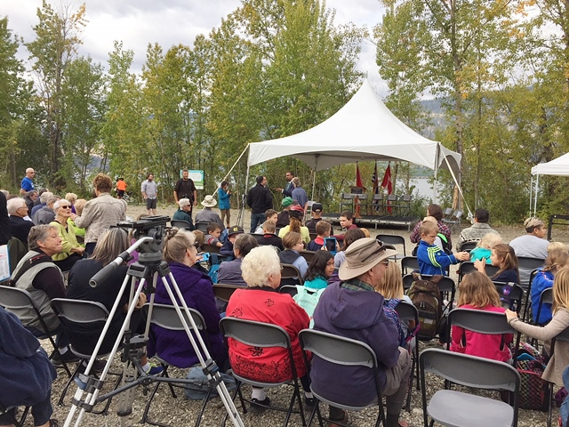 Hundreds Attend Rail Trail Opening