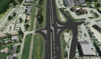 Just One Lane For 20th, Says City