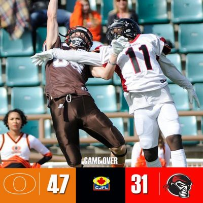 Okanagan Sun Roll Into First in the BCFC