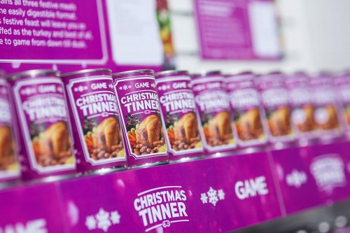 Christmas Dinner.......in a can