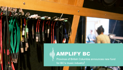 BC Government Amps up Funding for AMPLIFY BC
