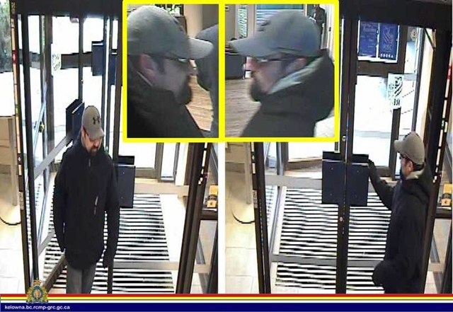Suspect Sought in Attempted Bank Robbery