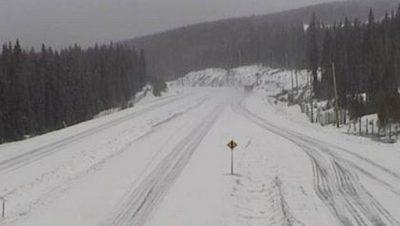 Snowfall Warning on Connector