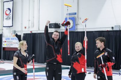 Canada Wins First Gold in World Mixed Curling