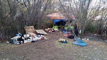 Homeless Told To Move For Own Safety