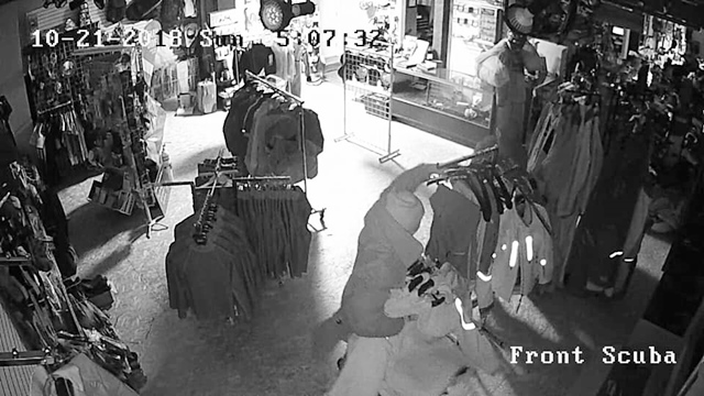 Masked Intruders Raid Business