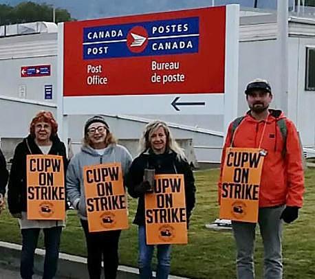 Postal Strike Reaches Okanagan