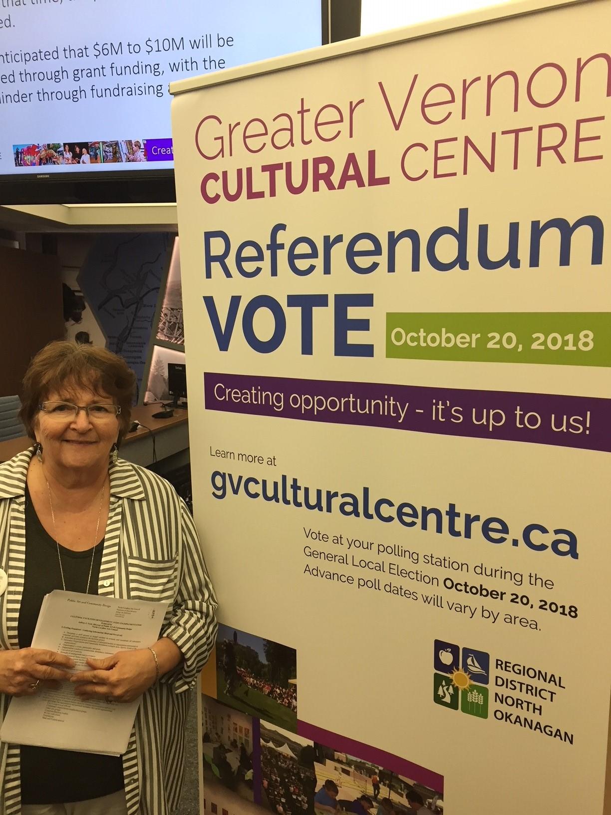 Cultural Centre Referendum Gaining Momentum