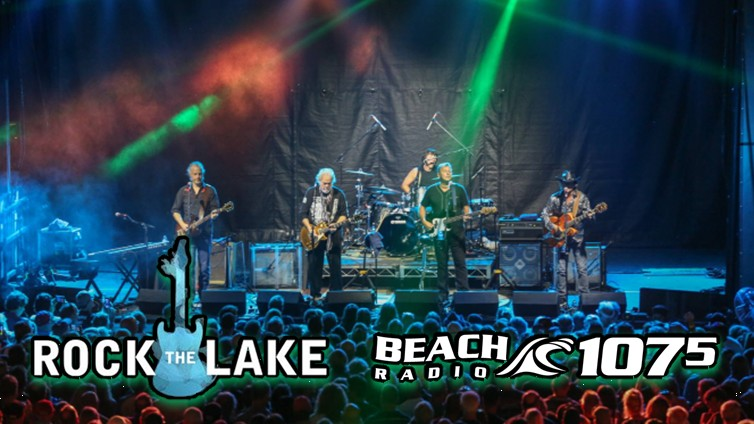 107.5 Beach Radio Partners With Rock The Lake