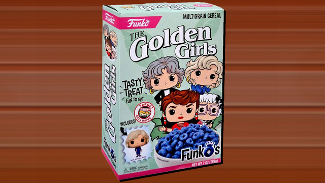 Golden Girls....the cereal?!