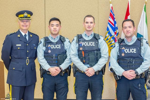 Officers Honoured For Bravery