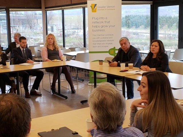 Minister Hears From Local Business