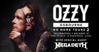 Heads Up Ozzy & Megadeth Fans!
