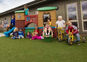 Okanagan College's Little Scholars Qualifies for Low Cost Child Care